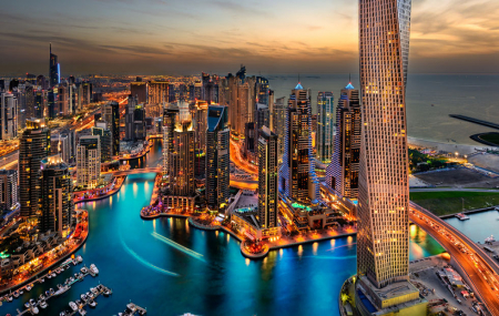 Dubaï : week-end 5j/3n en hôtel 5* + petits-déjeuners + vols Air France + transferts