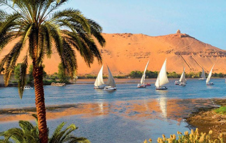 Egypte, Nil : combiné 5*, 15j/14 nuits, 7 nuits en croisière + 7 nuits en hôtel 5* tout inclus + vols