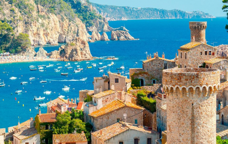 Costa Brava : vente flash, week-end 5j/4n en hôtel 4*+ pension complète + spa + vols, - 80%