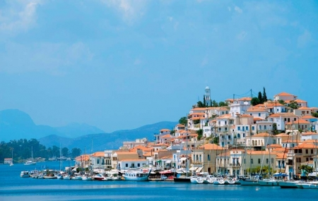Grèce, Poros : 1ère minute, vente flash, week-end 5j/4n en hôtel 4* + demi-pension + vols, - 53%