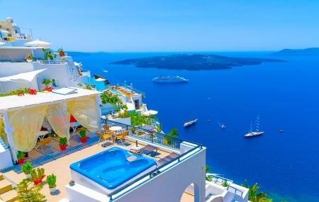 Grèce, Santorin : séjour 8j/7n en hôtel 3* + petits-déjeuners + vols, - 61%