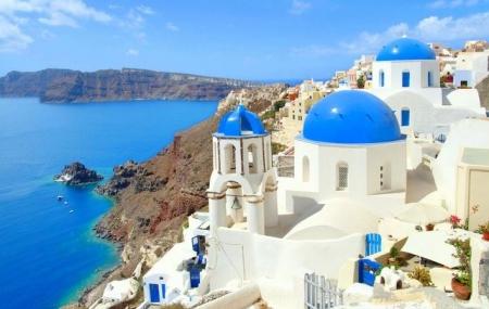 Athènes & Santorin : combiné 8j/7n en hôtels + pension + vols & transferts