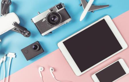 High Tech pour voyager aux enchères : appareils photos, casques, tablettes...