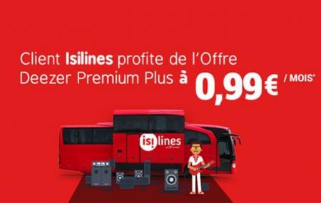 Bus : voyagez en musique avec Isilines et l'offre Deezer