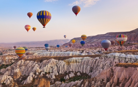 Turquie : circuit 11j/10n en hôtels + pension + excursions & vols