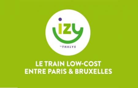 Train : promo IZY,  billets Paris - Bruxelles dès 19 € A/S