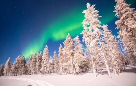 Laponie : enchère, circuit 5j/4n en hôtels 4* + petits-déjeuners + excursions & vols