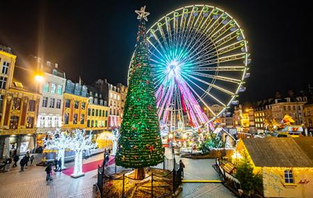 Lille, marché de Noël : vente flash, week-end 2j/1n en hôtel 3* + petit-déjeuner