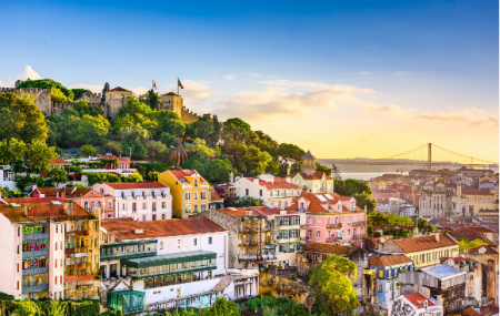Lisbonne : week-end 4j/3n en hôtel 4* + petits-déjeuners + vols