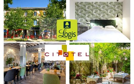 Week-ends à vélo : 2j/1n ou plus en Logis Hôtel, Normandie, Alpes, Auvergne...