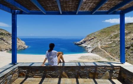 Grèce, île d'Andros : enchère, séjour 6j/5n en hôtel 4* + demi-pension + vols