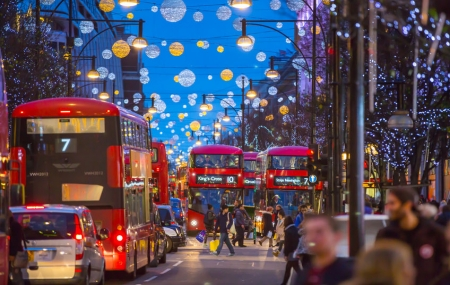 Londres, marché de Noël : week-end 3j/2n en hôtel 3* + petits-déjeuners, vols inclus
