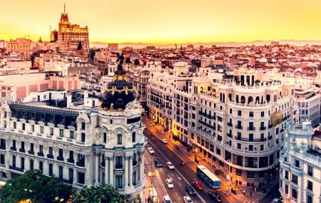 Madrid, Saint-Valentin : week-end 3j/2n en hôtel 4* très bien noté
