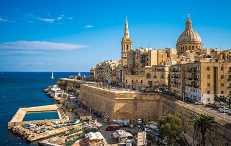 Malte : vente flash, week-end 5j/4n en hôtel 4* + petits-déjeuners, vols inclus