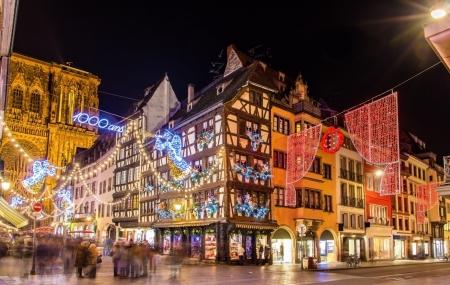 Strasbourg : vente flash, 2j/1n en hôtel 3* + petit-déjeuner,  dispos marché de Noël, - 30%