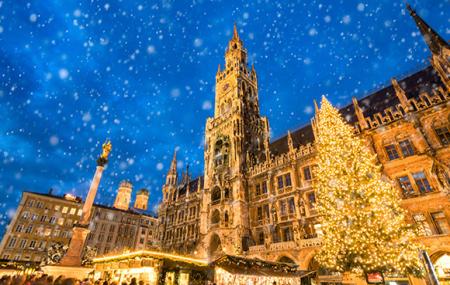 Train, marchés de Noël : TGV Paris ou Strasbourg vers Munich, Francfort, Stuttgart...