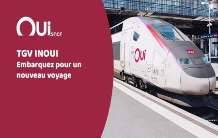 TGV INOUI : voyages à petit prix & grande vitesse vers Paris, Bordeaux, Lille, Lyon