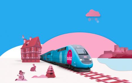 OUIGO, Alpes : 5 nouvelles destinations dès 10 € A/S