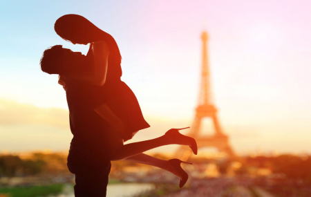 Week-ends romantiques : enchères, 1 à 2 nuits, Mt-St-Michel, Biarritz, Paris, Honfleur...