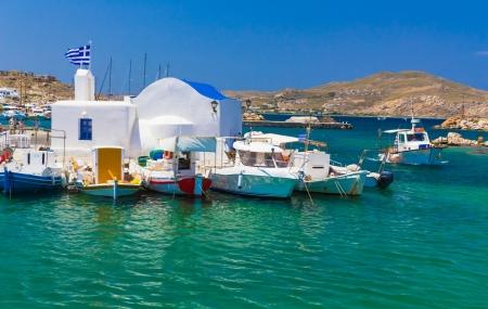 Cyclades, Paros : vacances d'été, séjour 8j/7n en hôtel 4* + demi-pension