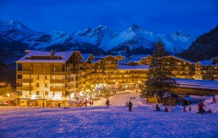 Valfréjus, Alpes : 2j/1n en hôtel 3* en formule tout inclus + espace bien-être