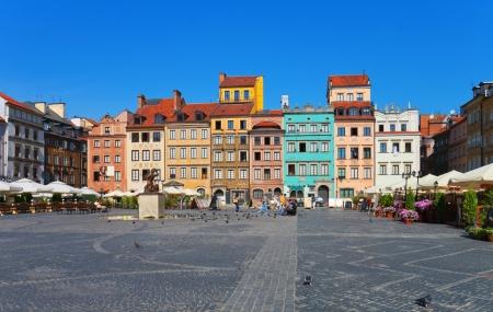 Varsovie : enchère : week-end 4j/3n en hôtel 3*, vols inclus