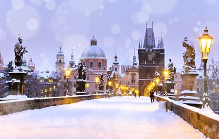 Prague, réveillon de Noël : week-end 3j/2n en hôtel très bien noté