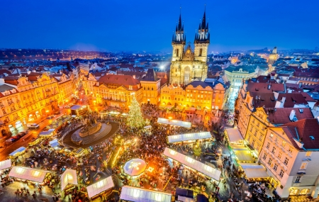 Marchés de Noël : 1 à 3 nuits à Strasbourg, Londres, Mulhouse, Prague, Bruxelles...