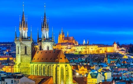 Prague : vente flash, week-end 3j/2n en hôtel 4* + petits-déjeuners, vols inclus