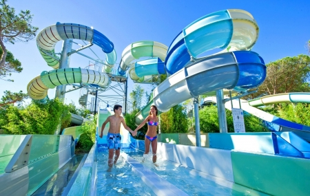 Campings avec parc aquatique : locations 8j/7n en mobilhomes, dispos été, - 70%