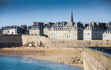 Saint-Malo : week-end 2j/1n ou plus en hôtel front de mer, - 49%