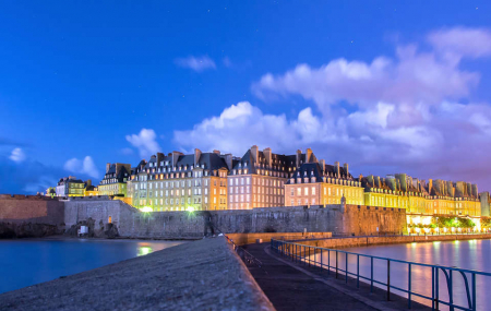 Saint-Malo : vente flash, week-end 2j/1n en hôtel 4* + petit-déjeuner , - 46%