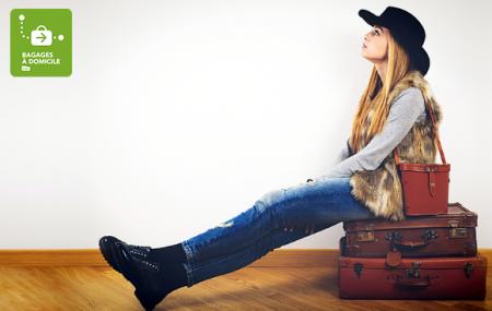 SNCF Bagages à Domicile : voyagez léger, faites transporter vos bagages où vous le souhaitez dès 38 € !