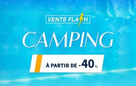 Camping à partir de - 40% : vente flash, 8j/7n en campings 3* à 5* cet été
