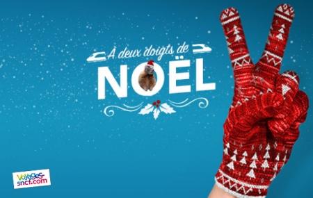 Train : ouverture des ventes de Noël avec TGV et Intercités dès 10 € AS/pers.