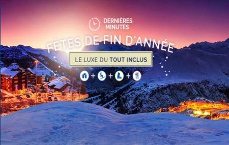Fêtes de Fin d'Année : dernière minute, 8j/7n en résidences dans les Alpes, forfait INCLUS