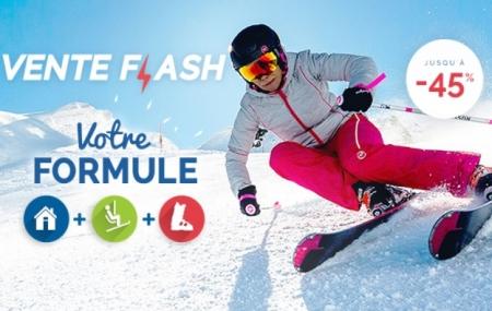 Ski : vente flash, formule