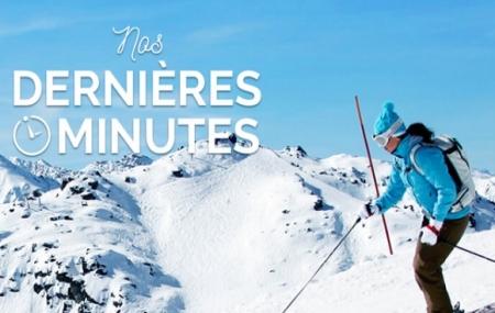 Ski en dernière minute : 8j/7n en résidences, forfait et matériel INCLUS