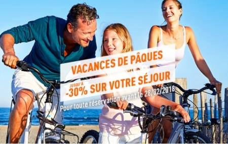 Camping à Pâques : 8j/7n en mobilhomes en France, dispos vacances
