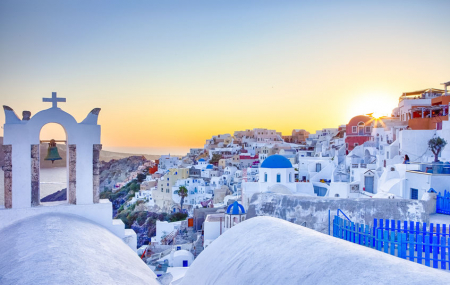 Grèce : Athènes & Santorin, combiné 8j/7n en hôtels + vols