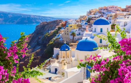 Santorin : week-end 5j/4n en hôtel front de mer, petits-déjeuners + vols