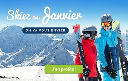 Ski Janvier : vente flash, 8j/7n en résidence + forfait & matériel inclus