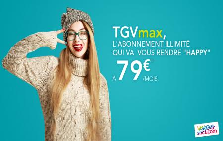 TGV max : abonnement pour des voyages en illimité TGV et Intercités pour les 16/27 ans