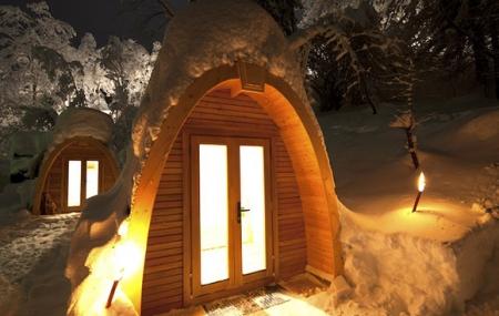 Pyrénées :  week-end combiné 3j/2n en appart'hôtel et igloo/snow pod, petit-déjeuner + 1 dîner