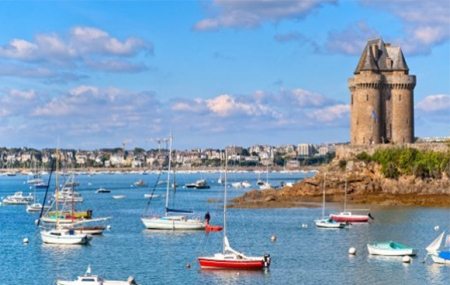 Saint-Malo : enchère, week-end 2j/1n en hôtel 3* pour 2 personnes