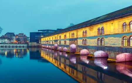 Strasbourg : week-end 2j/1n en bateau-hôtel 4* + petit-déjeuner et dîner à bord