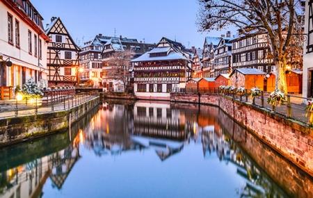 Strasbourg, Marché de Noël : enchère 1 ou 2 nuits en bateau-hôtel + petit-déjeuner & dîner