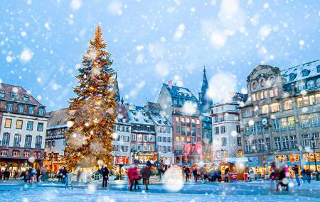 Strasbourg, Marché de Noël : vente flash, week-end 2j/1n en hôtel Hilton 4* + petit-déjeuner, - 78%