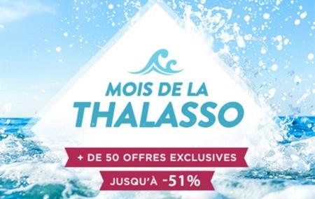 Mois de la Thalasso : 1 à 6 nuits, Normandie, Bretagne, Atlantique, Méditerranée... cure incluse