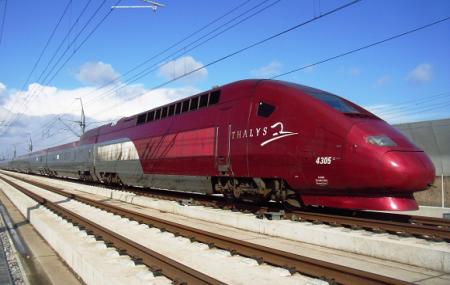 Train Thalys : vente flash, trajets aller simple de la France vers Bruxelles, Amsterdam ...